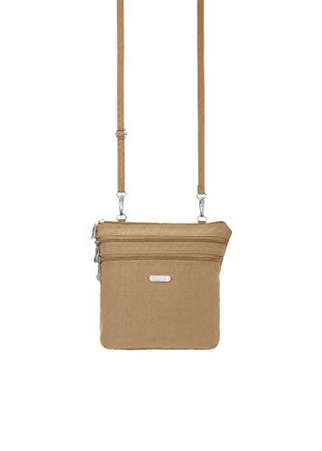 Baggallini Zipper Bag, Sand, One Size