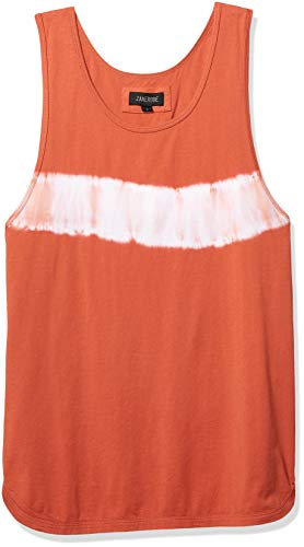 Zanerobe Men's TD Rugger Tank, Clay Medium for sale  Delivered anywhere in USA