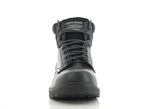 SAFETY JOGGER X1100N Men Safety Toe Lightweight EH PR Water Resistant Mid Cut Boot, M 11.5, Black by SAFETY JOGGER (Image #2)