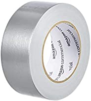 AmazonCommercial Light to Medium Strength Duct Tape, 1.88-inch by 35-Yard x 9-Mil, Silver, 3-Pack