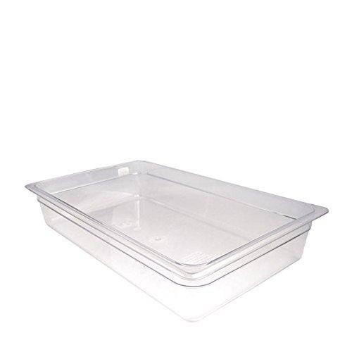 Cambro Manufacturing 14CW135 Camwear Food Pan Full Size Clea