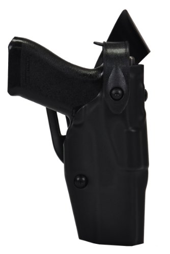 Mid Ride (Safariland 6360 ALS/SLS Level-III Retention, Mid-Ride Duty Holster, Glock 19, 23, 32, STX Tactical Black, Right Hand)
