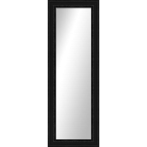 Montebello black full length mirror hanging wall mirror for Passpiegel blokker