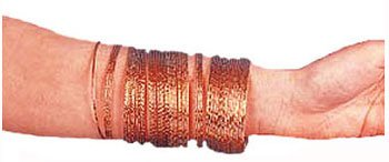Gold Gypsy Bangle Bracelets 50pk