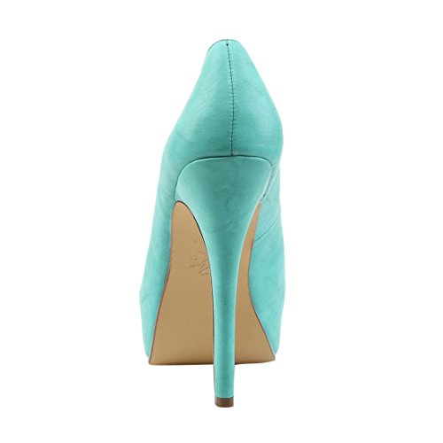 Up Leather Faux BELLA Pin Teal 30 Couture 8qfwdBw