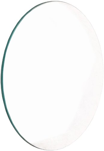 United Scientific LCV108 Glass Double Convex Lens, 100mm Diameter, 200mm Focal Length