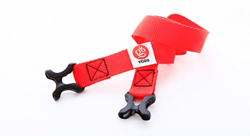 Yoga Mat Carry Strap by YOGO - For Travel and Commuting with YOGO Travel Yoga Mat