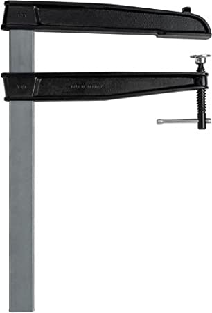 Gris//noir Bessey TGN30T20K Serre-joint r/églable en fonte TGNT-K 300//200 mm