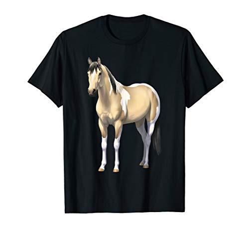 Buttermilk Buckskin Pinto Quarter Horse Paint Horse T-Shirt ()