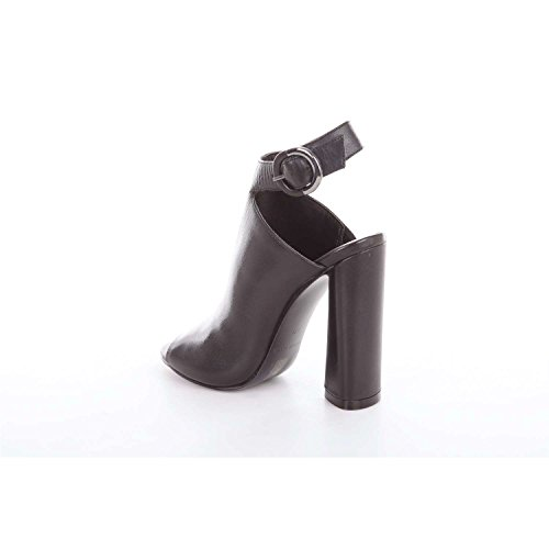 Kkgigi Kendall Sandals and Kylie Women's Heels Black UqxzC1a