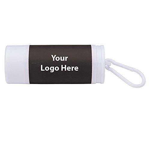 LED Flashlight / Dog Waste Bag Dispenser - 200 Quantity - $2.90 Each - PROMOTIONAL PRODUCT / BULK / BRANDED with YOUR LOGO / CUSTOMIZED by Sunrise Identity