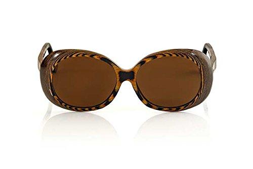 Luxury Women's Root Kara Brown Maple Wood Sunglasses Eco - Sunglass Louis Vuitton