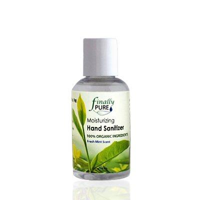 Finally Pure - Moisturizing Hand Sanitizer (Fresh Mint Scent) - 2 oz Travel Size