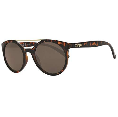 Zippo UV400 - Gafas de Sol Unisex, Color marrón, Talla única ...