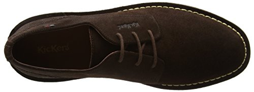 Kickers Kanning Lace - Botas Hombre Marrón (Brown)
