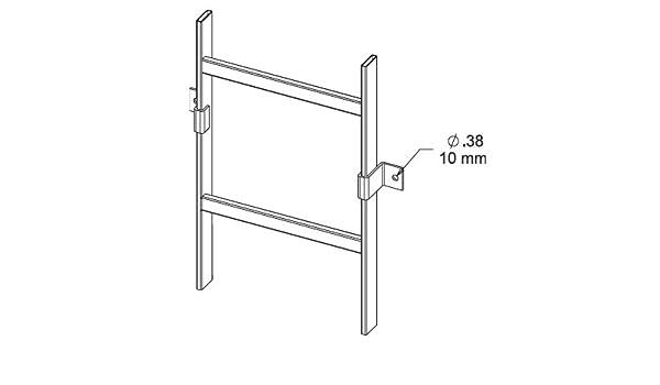 lvwbb: Hoffman vertical soporte de pared para escalera pista, negro: Amazon.es: Amazon.es
