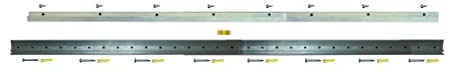 Hangman - Professional French Cleat – for Mirrors, Pictures, Ledges, Cabinets & Headboards - Aluminum: CBH-42 Hangman Products