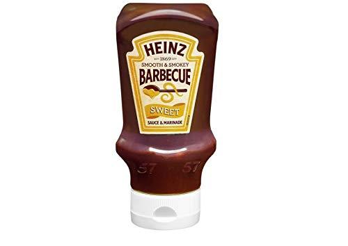 Heinz, Zoete barbecuesaus in glas, 500 g