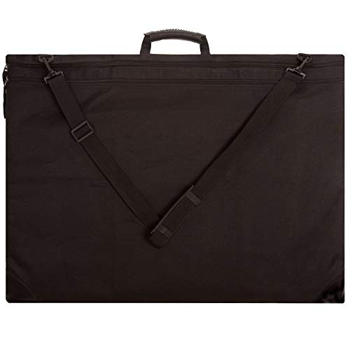 (SoHo Soft & Durable Nylon Artist Art Portfolio Tote Carries Drawings Sketch Pads Books Canvas Frames Sizes Up to 23x31