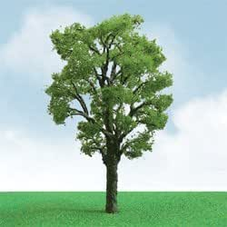 Árboles para maquetas. Pack 2 árboles del castaño en miniatura a escala HO. JTT Scenary. CHA6092308