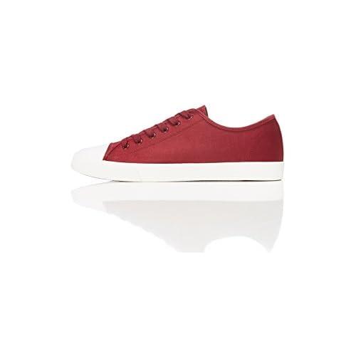 chollos oferta descuentos barato find Zapatillas Clásicas con Cordones para Hombre Rojo Maroon 44 EU