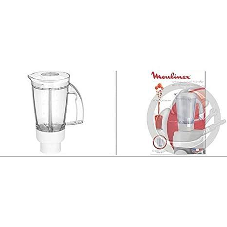 Moulinex - Cuenco licuadora completo blanco - ms-5 a16452: Amazon ...