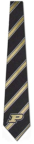 Purdue University Boilermakers NCAA College Sports Striped Mens Neck -