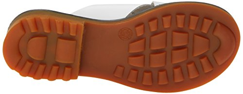 Robert Clergerie Womens Bart Slide Sandaal Wit