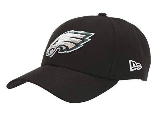 New Era Philadelphia Eagles The League 9FORTY Adjustable Hat Black