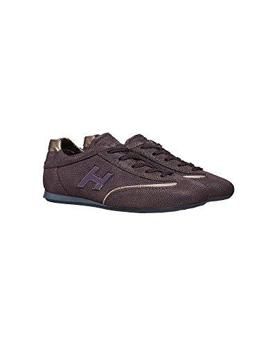 Hogan Sneakers Donna HXW057016876TB23AB Pelle Bordeaux