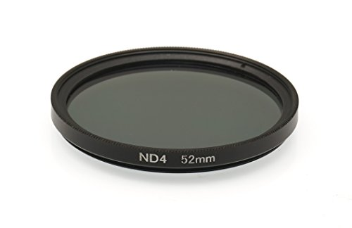 Gadget Career 52mm Neutral Density ND4 Filter for Canon EF-M 18-55mm f/3.5-5.6 IS STM by Gadget Career