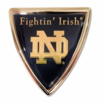 University of Notre Dame (Shield w/ Color) Emblem