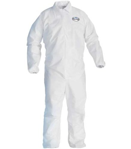 Kleenguard A20 Coveralls w/ Elastic Back, Wrists & Ankles, 2XL (24 Pack)