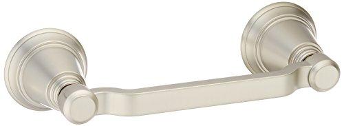 Moen YB8208BN Rothbury Pivoting Paper Holder, Brushed Nickel