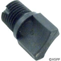 (Pentair 98207700 1/4-Inch Universal Drain Plug Replacement Pool and Spa Pump)