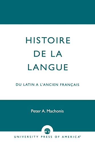 Histoire De La Langue