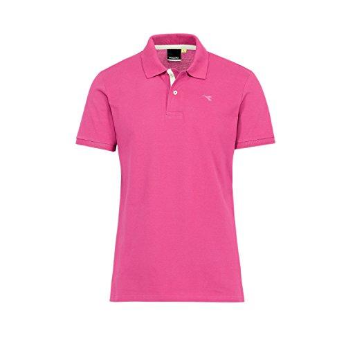Diadora Sport 102161005 - Polo para hombre 50162 - rosa impactante