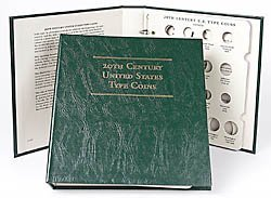 Littleton 20th Century U.S. Type Coins Album LCA53 20th Century Type Coins