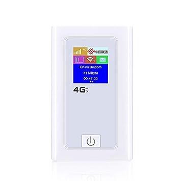 XZANTE 4G WiFi Router Punto Caliente Móvil para Coche Mifi ...