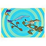 Terwen Wile E. Coyote And The Road Runner Modern Home Decorative Pillow Case Zipper Cushion Covers (20x30 inch)