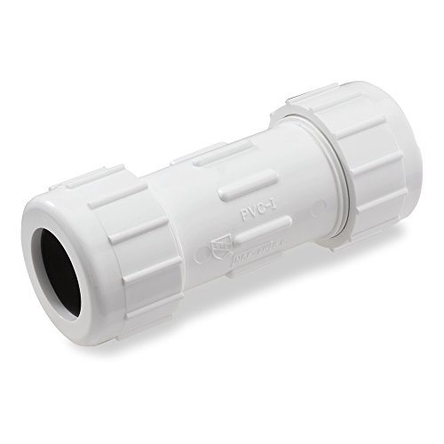 NDS CPC-1500 1-1/2-Inch Compression PVC Compression Coupling, -