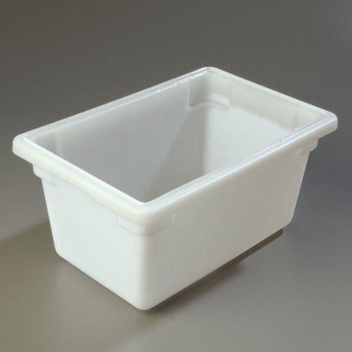 Carlisle StorPlus 18 x 12 x 9 White Food Storage Container