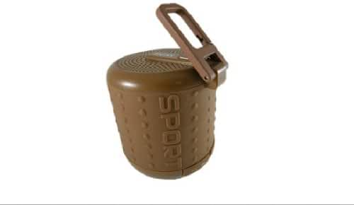 DOSS HURRICANE 3 DS-1208 Bluetooth Speaker Buckle Handsfree TF AUX 5 Colours-Coffee