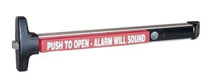 Detex V40 EB-W CD 628 99 36 Weatherproof Alarmed Exit Dev, Aluminum