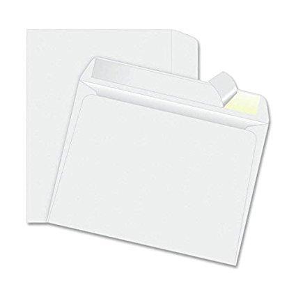 EnDoc 6x9 Envelopes Self Seal Booklet Color White 28 lb Envelope Open Side 6 x 9 250/Box