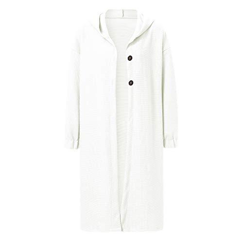 Mode Cape Longue Manteau Tops Confortable Tricot Pull Sanfashion Blanc Femme Cardigan Chaud ZXzzaq