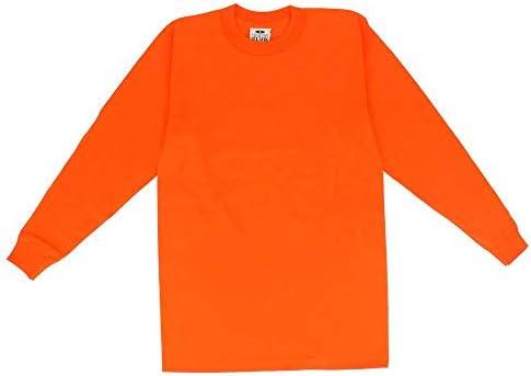 PRO CLUB プロクラブ 119 長袖 コンフォート Tシャツ サイズXL オレンジ