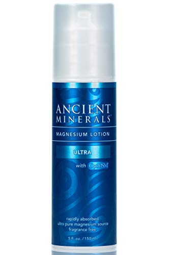 Ancient Minerals Magnesium Lotion ULTRA with MSM - Pure Genuine Zechstein Magnesium Lotion Supplement with MSM for Topical Application ()