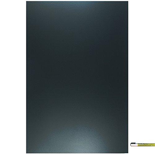 Cohas Eco Chalkboard includes 1 Unframed Blackboard and Liquid Chalk Marker, 24 x 36 Inches Each, White Marker (Vinyl Unframed)