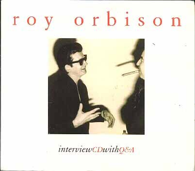 Interview CD with Q&A (Roy Orbison)